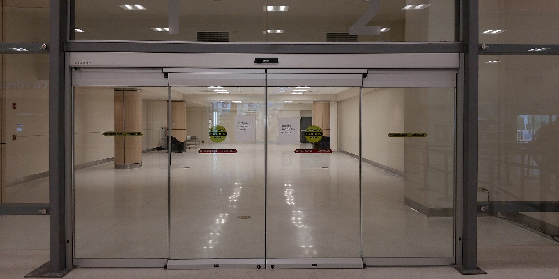 Commercial Sliding Glass Entrance Doors Assa Abloy
