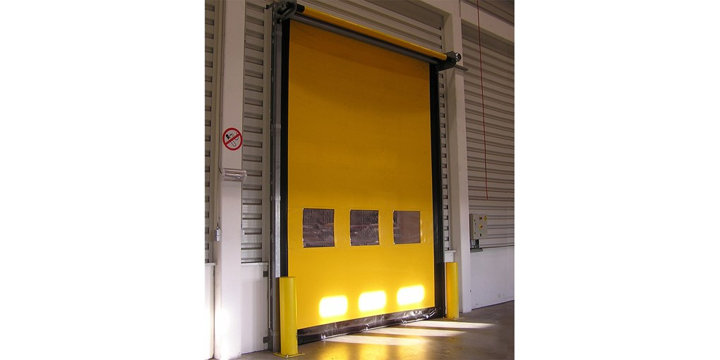 Wind Resistant High Speed Roll Up Doors Assa Abloy Us
